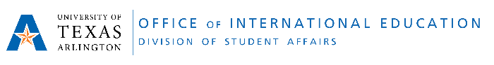 UTA Office of International Education Logo